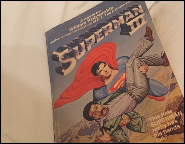 Superman III Novel